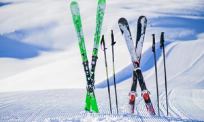 Ski trails in Saugatuck