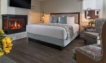 Fenn Valley Cottage Room