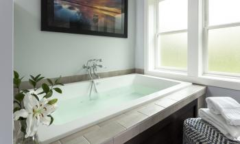 Sandpiper Room Microtherapy Tub