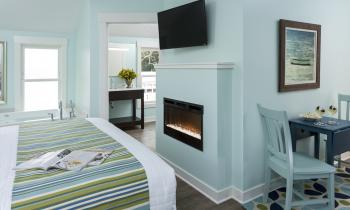 Twin Gables Room Fire Place